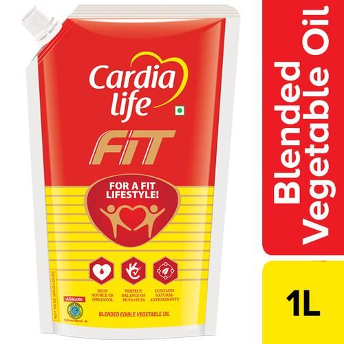 Cardia Life Fit Blended Oil, 1 L