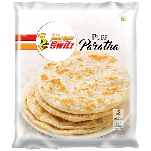 Switz Paratha Puff, 5 pcs Pouch