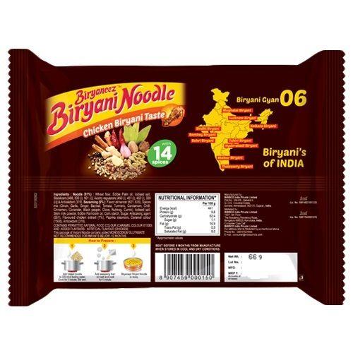Biryaneez Noodles - Chicken Biriyani, 66 g