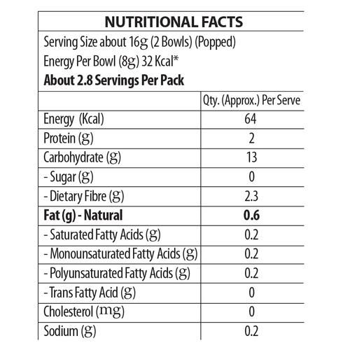 ACT II Microwave Diet Popcorn - High In Fibre, Zero Added Fat, 28 g