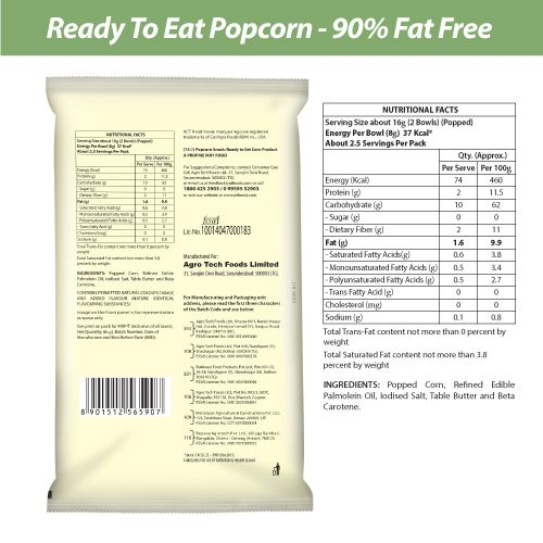 ACT II Diet Popcorn - Ready to Eat, 90% Fat Free, 40 g