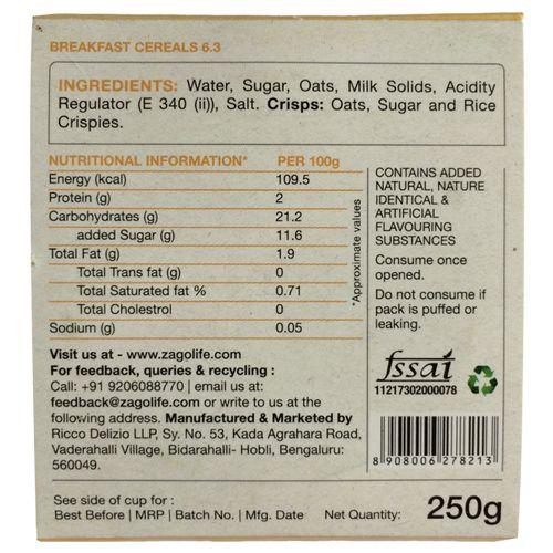 Zago Porridge - English, Tiffin, 250 g