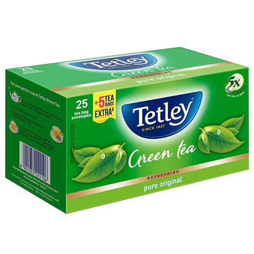 Tetley Green Tea - Pure Original, 25 Teabags