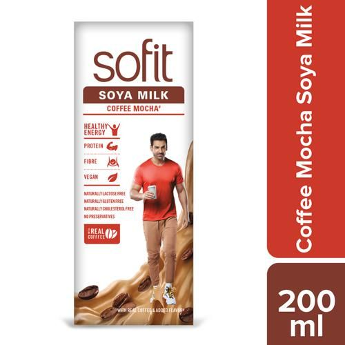 Sofit  Soya Milk - Coffee Mocha, 200 ml