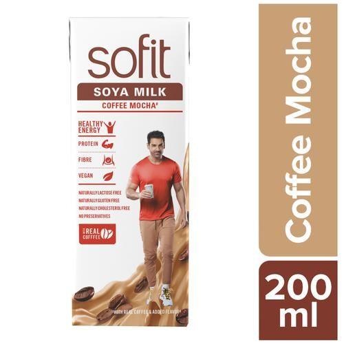 Sofit  Soya Milk - Coffee Mocha, 200 ml