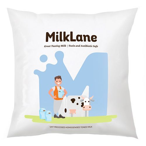 MilkLane UHT Processed Homogenized Toned Milk, 500 ml