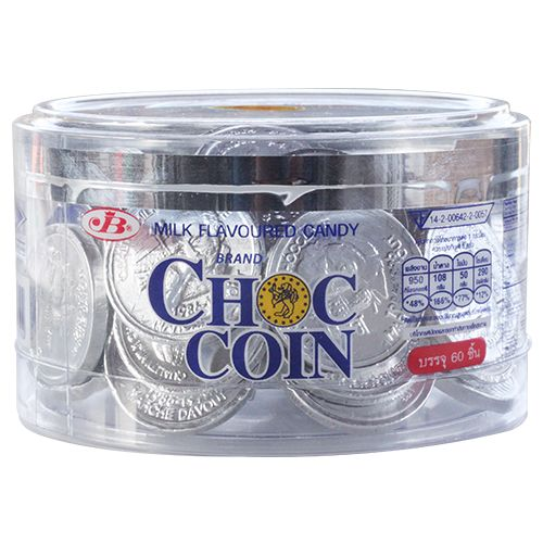 JB Choco Coin Candy - Milk Flavoured, 168 g
