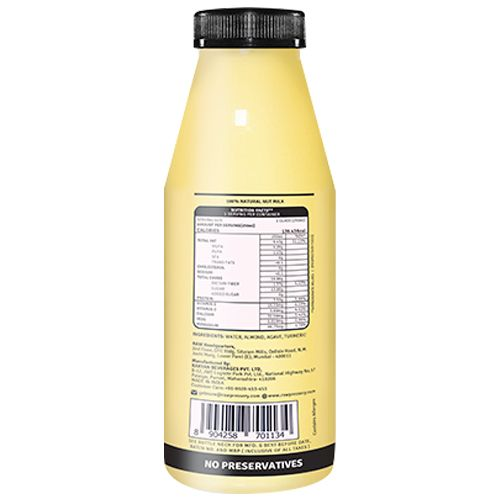 Raw Pressery Turmeric Almond Milk, 250 ml