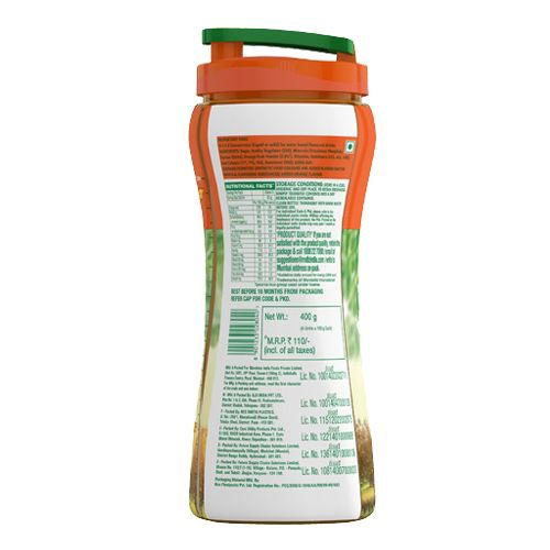 Tang Instant Drink Mix - Orange, with Sipper, 100 g Pack of 4