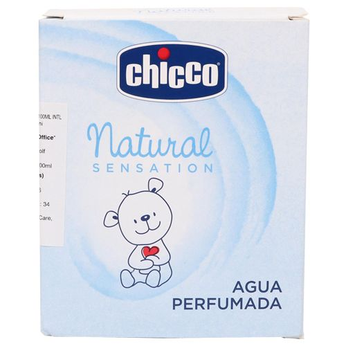 Chicco Perfumed Water - Sweet, Natural Sensation, 100 ml
