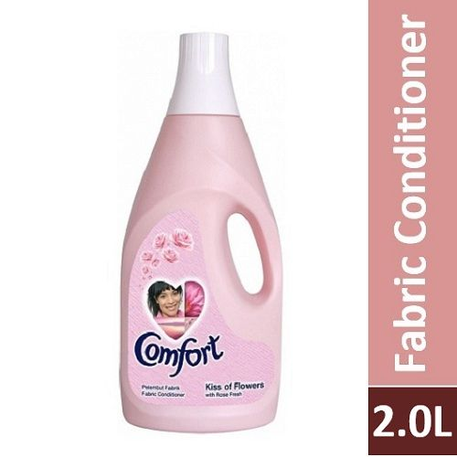 Comfort Fabric Softener - Pink Rose, Imported, 2  ltr Can