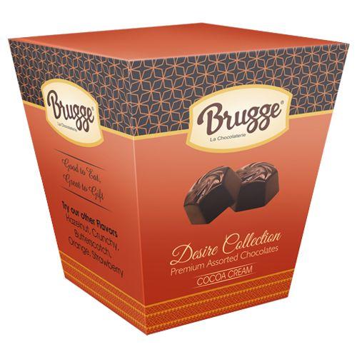 Brugge La Chocolaterie Desire Collection - Cocoa Cream Chocolate, 250 g