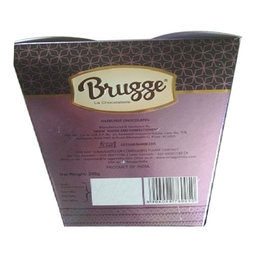 Brugge La Chocolaterie Desire Collection - Hazelnut Chocolate, 250 g