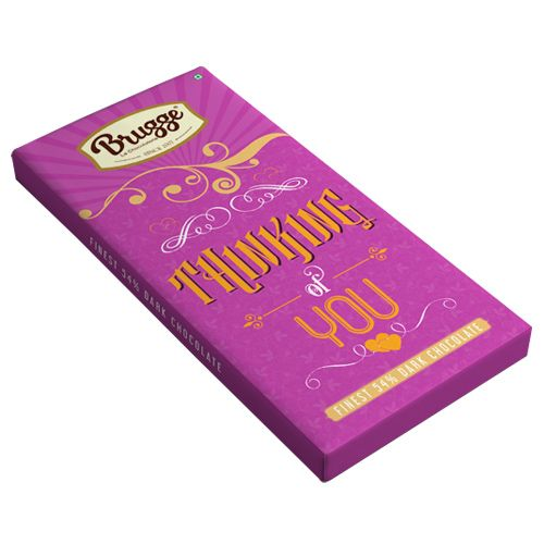 Brugge La Chocolaterie Thinking of You - Finest, 54% Dark Chocolate, 80 g
