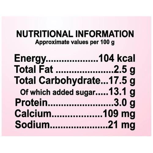 Milky Mist Fruit Yoghurt - Strawberry, 100 ml