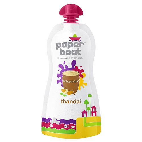 Paper Boat Flavoured Milk - Thandai, 200 ml