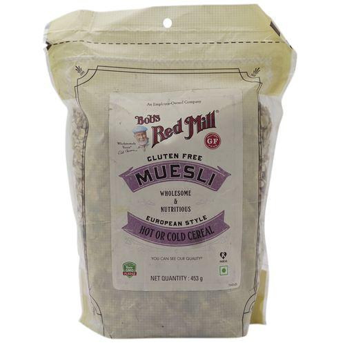 Bobs Red Mill Muesli - Gluten Free, 453 g