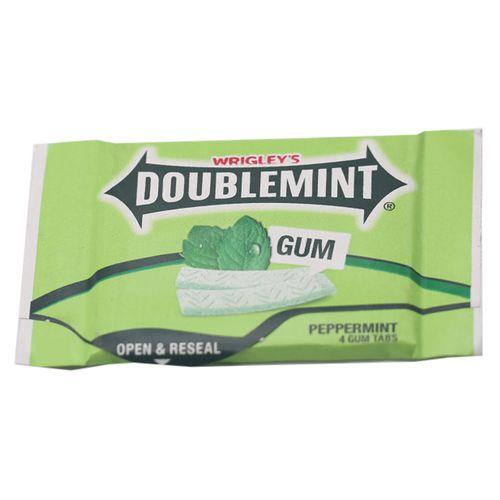 Wrigleys Doublemint Gums - Peppermint, 7.4 g