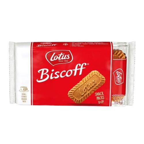 Lotus Biscuit - Caramelised, The Original, Biscoff, 124 g