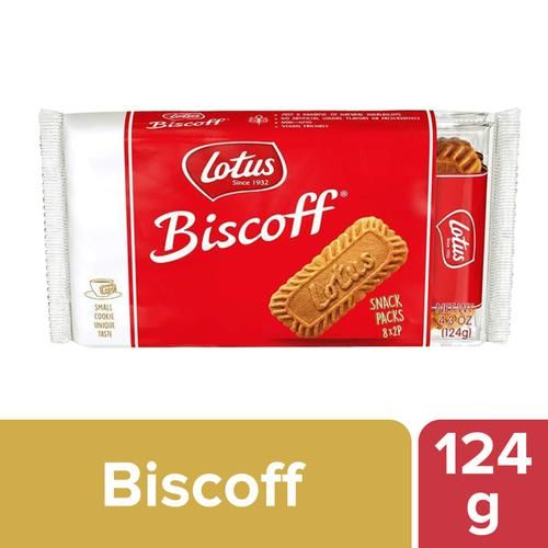 Lotus Biscuit - Caramelised, The Original, Biscoff, 124 g