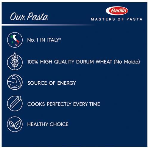 Barilla Durum Wheat Pasta - Rigatoni, 500 g Carton