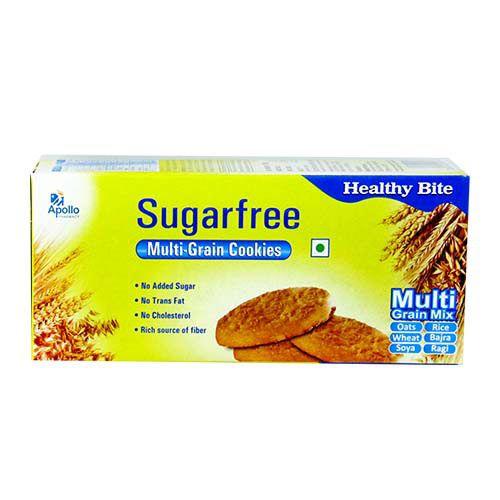 Buy Apollo Pharmacy Cookies Multi Grain Sugar Free 100 Gm Online At