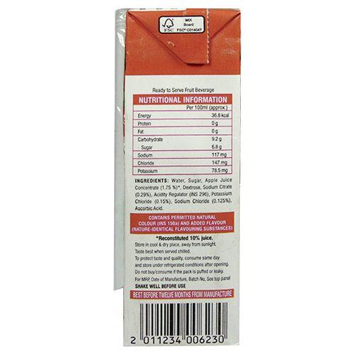 Apollo Life Health Drink - Electro Choice, Apple Flavour, 200 ml