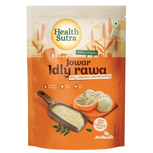 Health Sutra Idly Rawa - Jowar, Roasted, 500 g