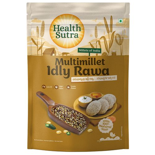 Health Sutra Idly Rawa - Multimillet, Roasted, 500 g 0