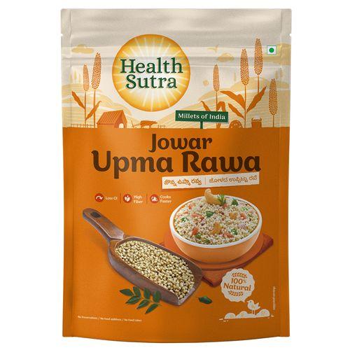 Health Sutra Upma Rawa - Jowar, Roasted, 500 g