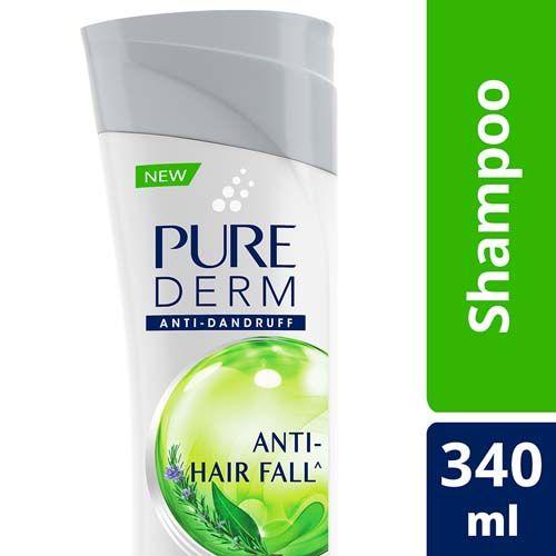 Pure Derm Shampoo - Anti-Hairfall, 340 ml
