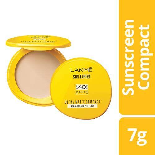 Lakme Lakme Sun Expert Ultra Matte SPF 40 PA+++ Compact, 7 g, 7 g