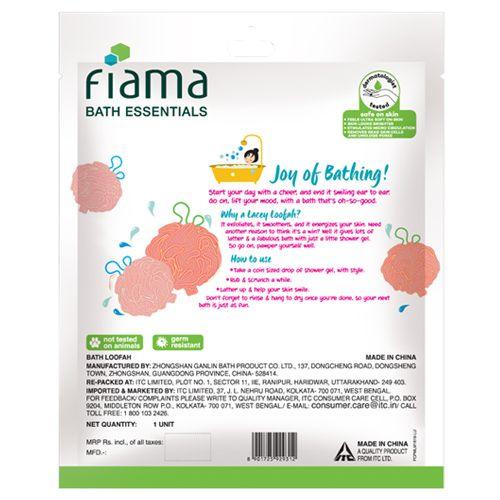 Fiama Loofah - Lacey, Bath Essentials, 1 pc