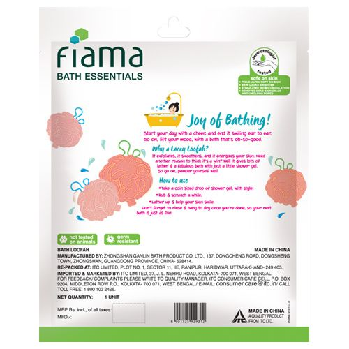 Fiama Puff-A-Loofah - Bath Essentials, 1 pc