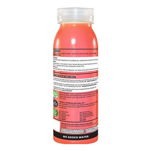 Raw Pressery Grapefruit - 100% Natural Cold Pressed Juice, 250 ml