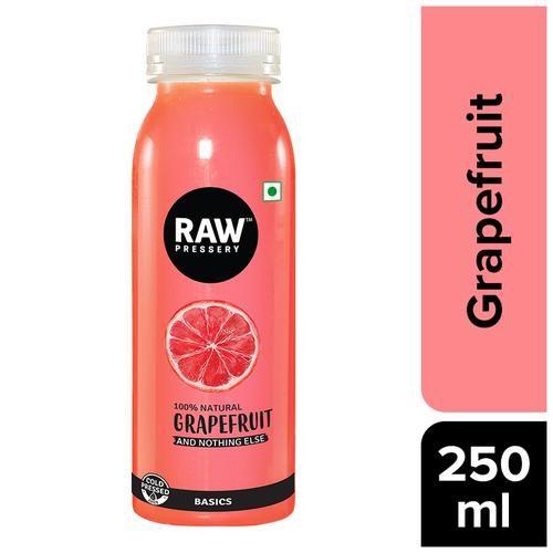 Raw Pressery 100% Natural Cold Pressed Juice -  Grapefruit, 250 ml