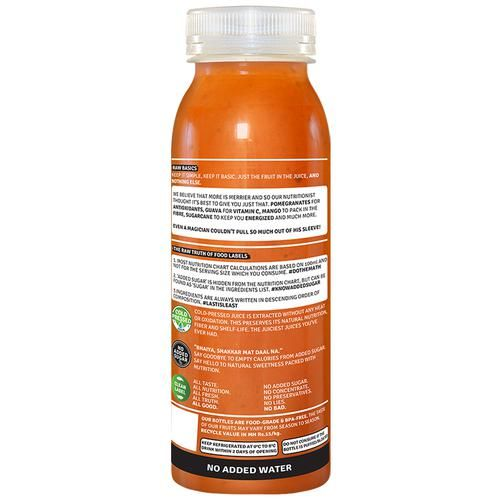 Raw Pressery 100% Natural Cold Pressed Juice -  Mixed Fruit, 250 ml