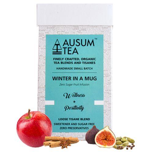 Ausum Tea Tea - Herbal, Winter In A Mug, Wellness & Positivity, Loose  Blend, 20 Teapots