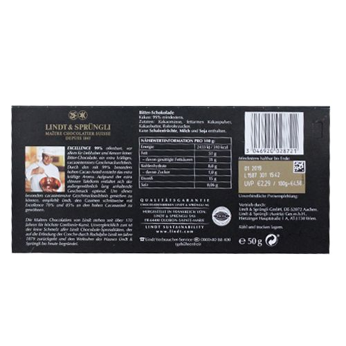 Buy Lindt 99 Cacao