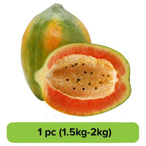 Fresho Papaya - Ripe, 1 pc 750g-1.5 kg