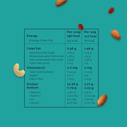 Nourish you Quinoa Muesli - No Added Sugar, 375 g 0