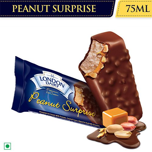 London Dairy Ice Cream - Peanut Surprise, 75 ml