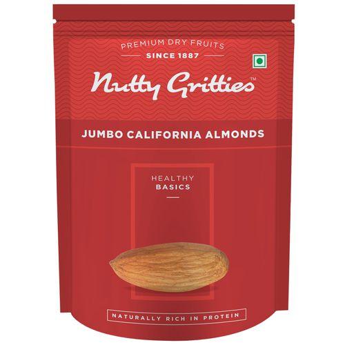 Nutty Gritties Almonds - Jumbo, California, 200 gm