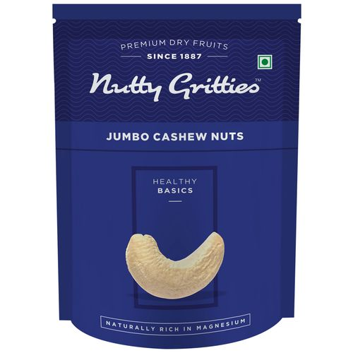Nutty Gritties Cashewnuts - Jumbo, 200 gm