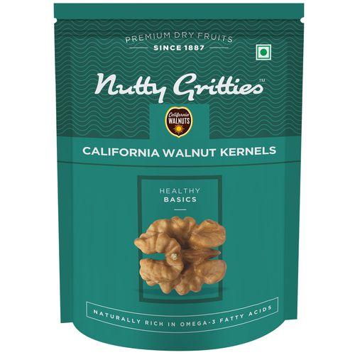 Nutty Gritties Walnut - Californian, Kernels, 200 gm