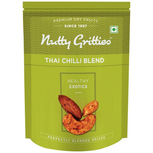 Nutty Gritties Nuts Blend - Thai, Chilli, 200 gm