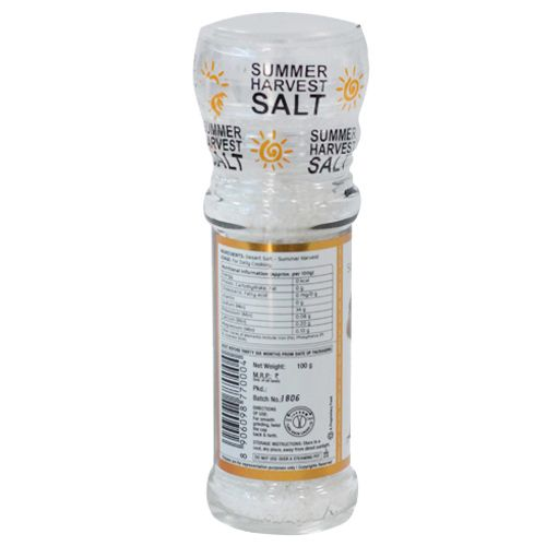 Lunn Desert Salt - Summer Harvest, Grinder, 100 gm