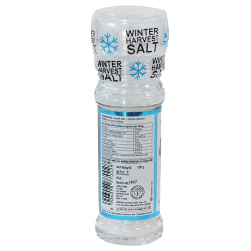 Lunn Desert Salt - Winter Harvest, Grinder, 100 gm