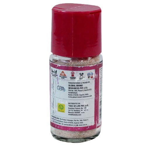 Lunn Pink Salt - Rock, Fine Grain, 100 gm Shaker