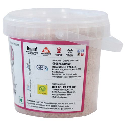 Lunn Pink Salt - Rock, Fine Grain, 750 gm Tub